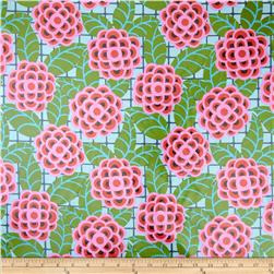 Amy Butler Cameo Laminate Tea Rose Silver
