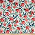 Michael Miller Bed of Roses Bed of Roses Coral
