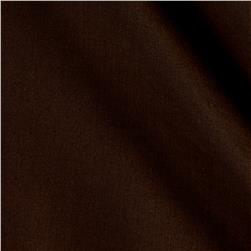 "60"" Poly Cotton Broadcloth Brown"