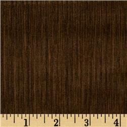 6 Wale Corduroy Bark Brown Fabric