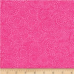 Timeless Treasures Pop Basic Circle Dots Peony