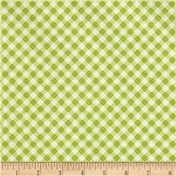 Riley Blake Hello Sunshine Plaid Green