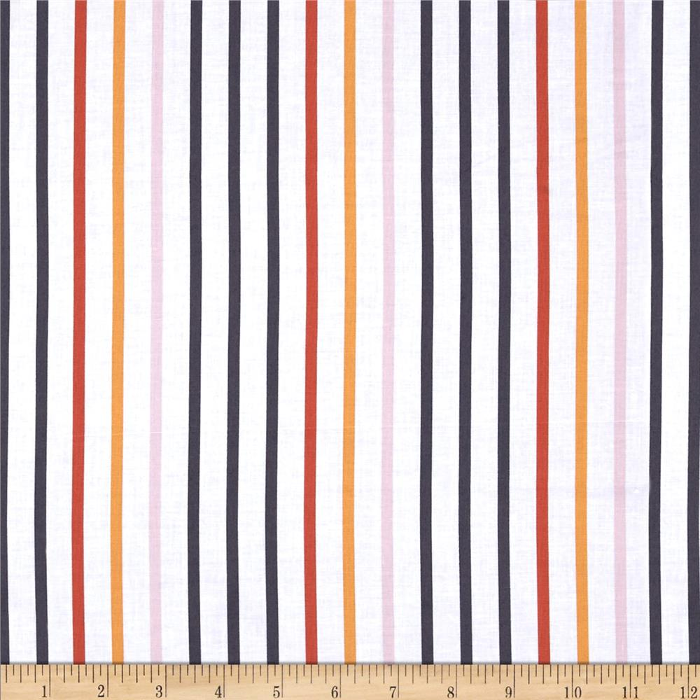 Michael Miller Seedling Pavillion Stripe Parika