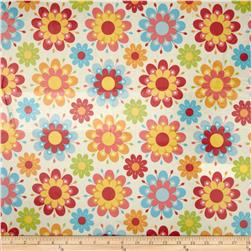 Riley Blake Just Dreamy 2 Laminate Large Floral Cream