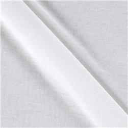 White Collection Rayon Tissue Jersey Knit White