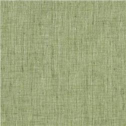 100% Linen Tonal Gray/Green