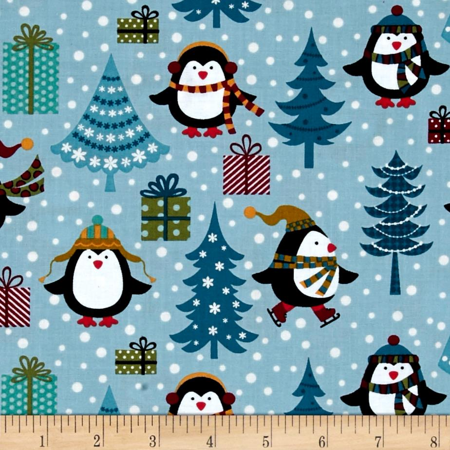 Jolly Penguin & Friends Jolly Penguin Holiday Blue/Multi