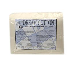 "Quilter's Dream Natural Cotton Deluxe Batting (122"" x 122"") King"