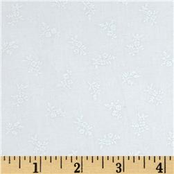 "Good Measure 2 114"" Wide Back Floral White"