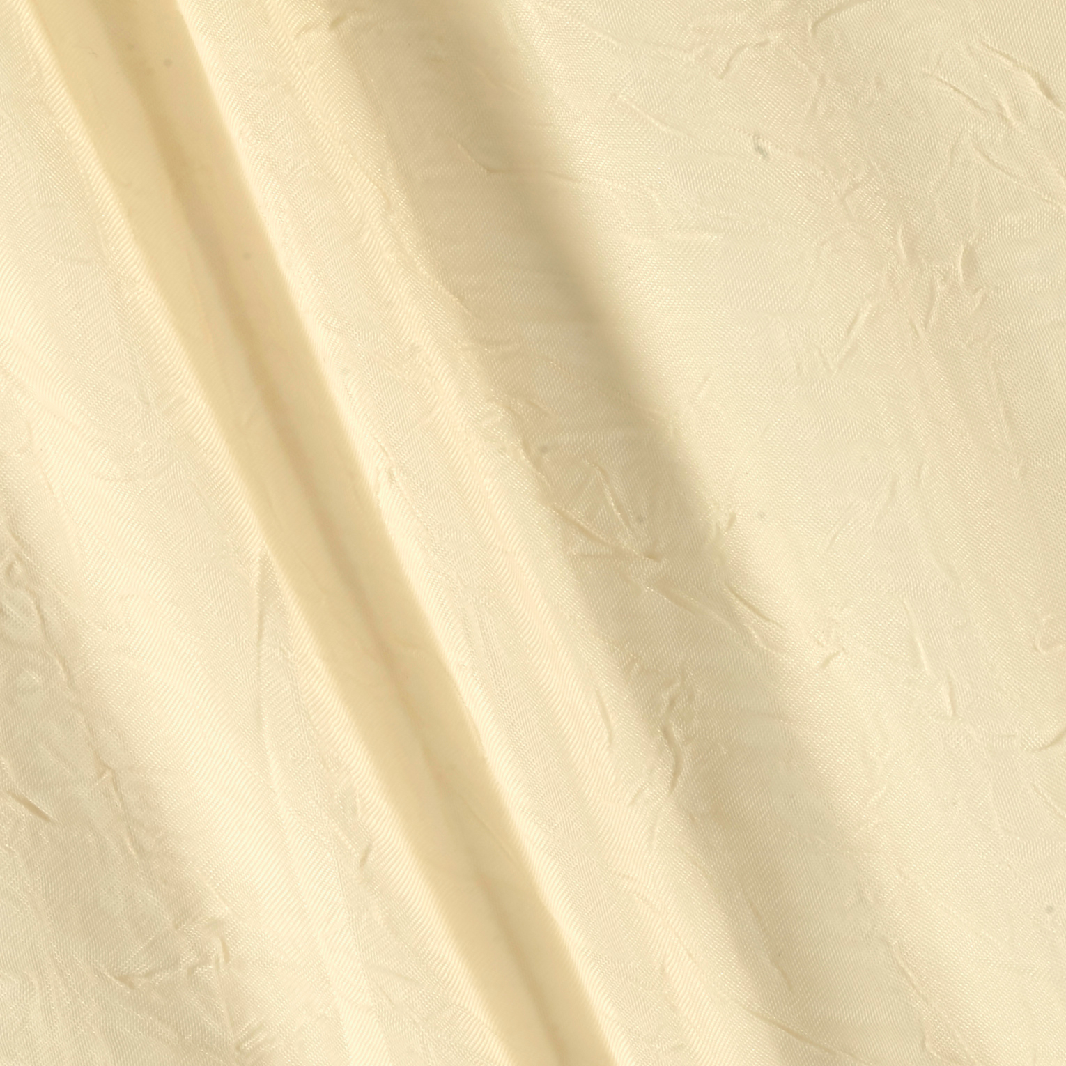 Image of 108'' Crushed Sheer Voile Butter Fabric