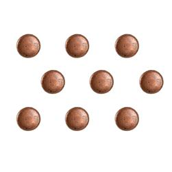4mm Copper Dome Round 36pc