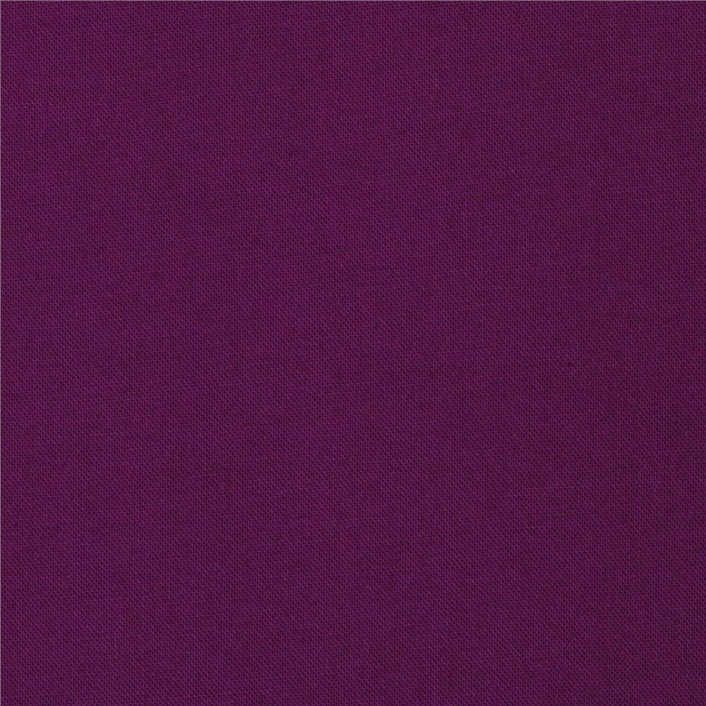 Kona Cotton Dark Violet - Discount Designer Fabric