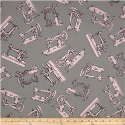 Premier Prints Vintage Sewing Twill Bella Fabric