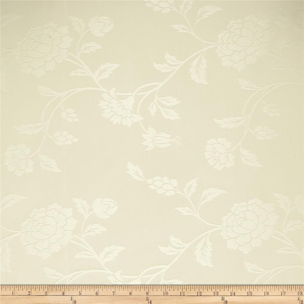 Robert Allen Promo Floresta Damask Jacquard Ivory
