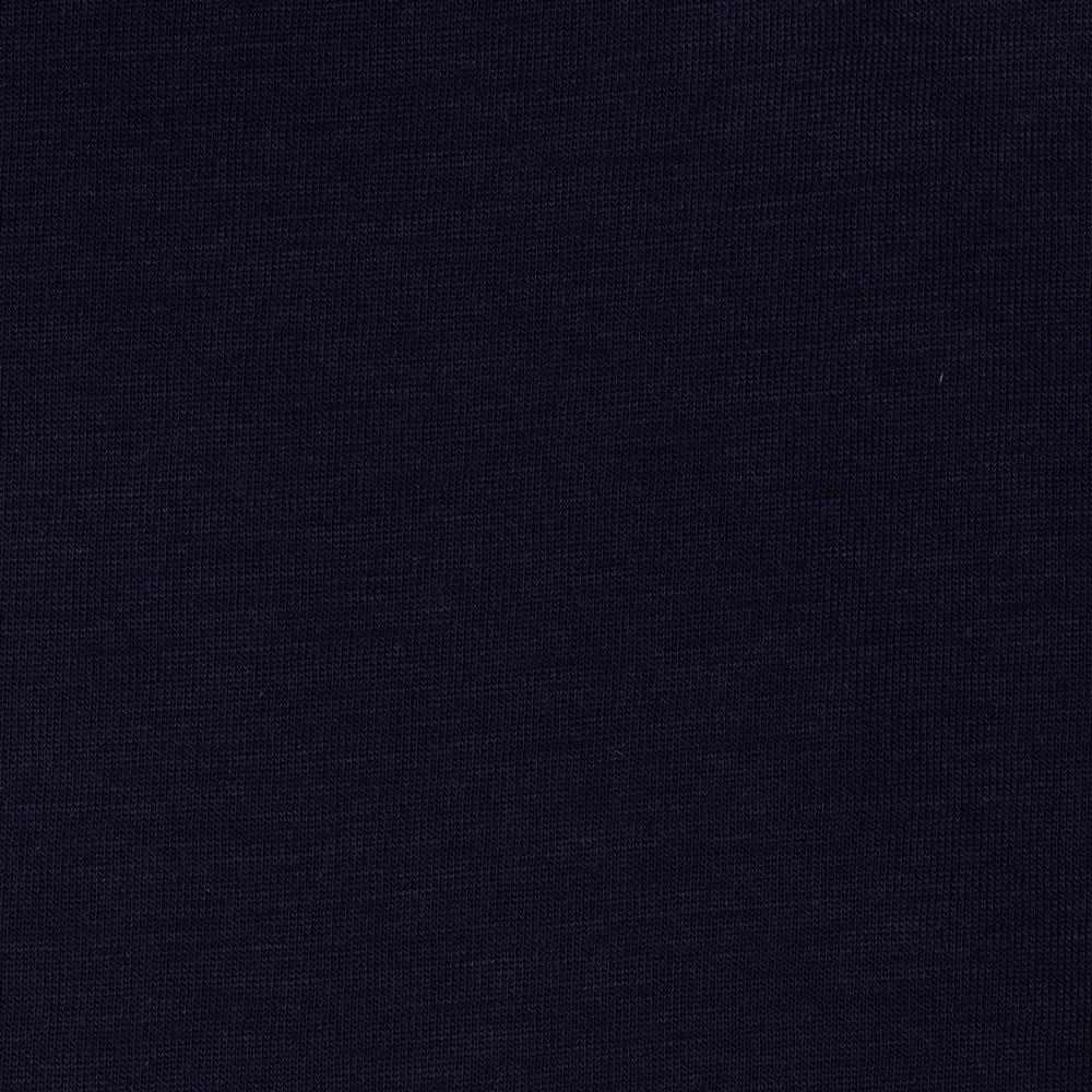 Stretch Rayon Tissue Jersey Knit Navy