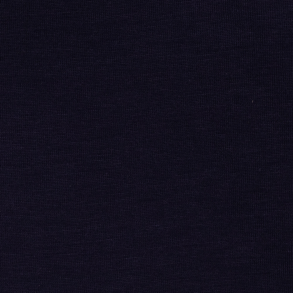 Stretch Rayon Tissue Jersey Knit Navy Fabric