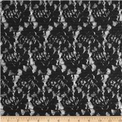 Ripple Lace Dark Black