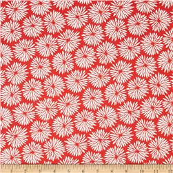 Cucina Fresco Mod Floral Red