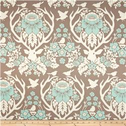 Joel Dewberry Birch Farm Antler Damask Burlap