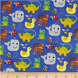 Colors and Count Animals Only Blue