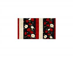 Poppy Celebration Repeating Stripe Multi