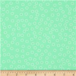 Kaufman Remix Bubble Dot Mint