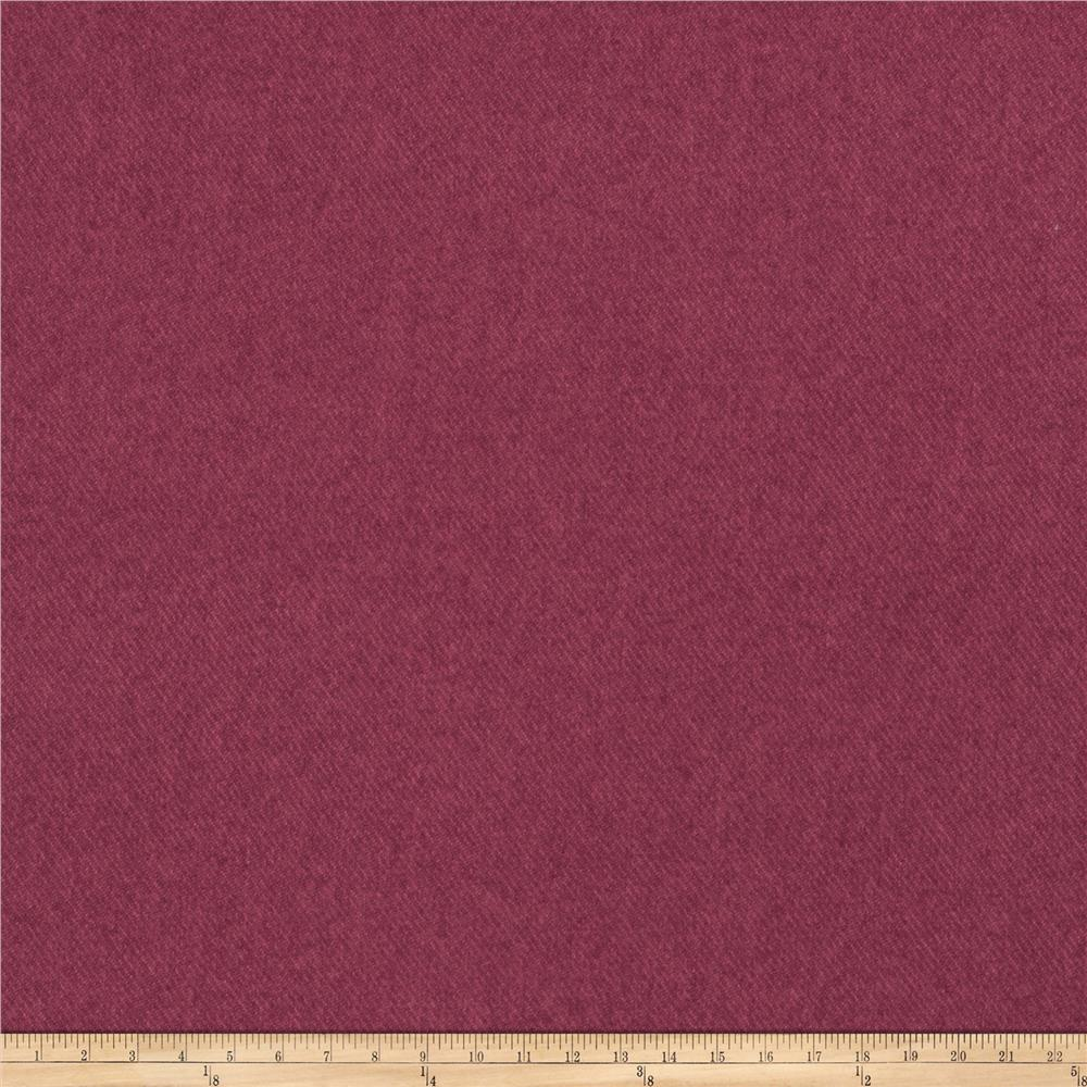 Fabricut Devon Faux Wool Beetroot