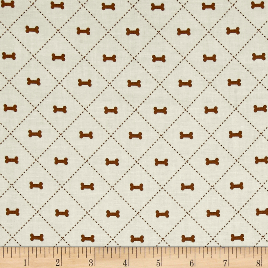 Riley Blake Rover Bone Cream Fabric