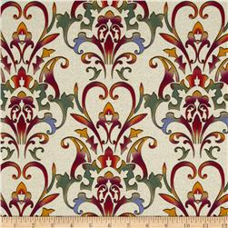 Carnival Allover Scroll Taupe