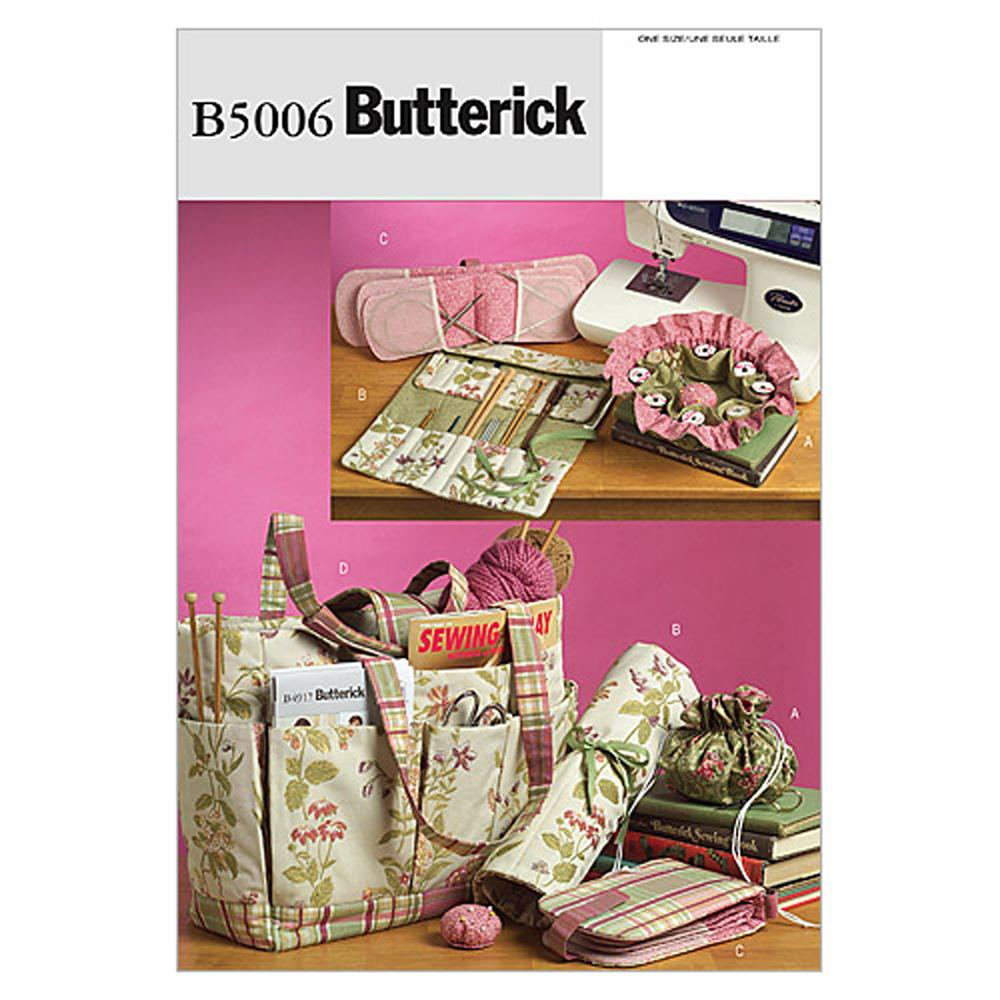 Butterick Sewing and Knitting Tote and Accessories Pattern