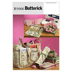 Butterick Sewing and Knitting Tote and Accessories Pattern B5006 Size OSZ