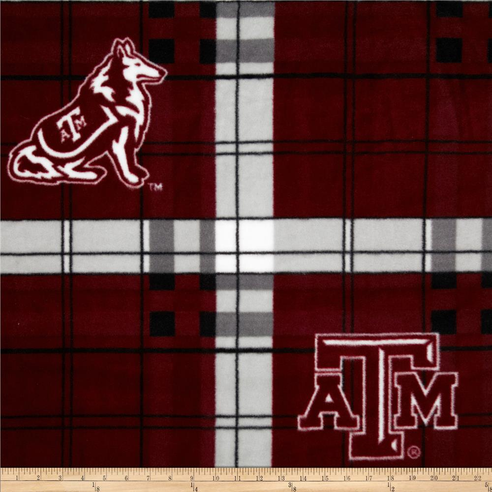 Texas A&M Fleece Plaid Camo