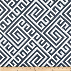 RCA Sheers Meander Navy Fabric