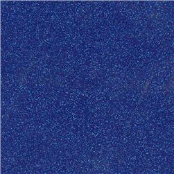 Sparkle Vinyl Royal Blue Fabric