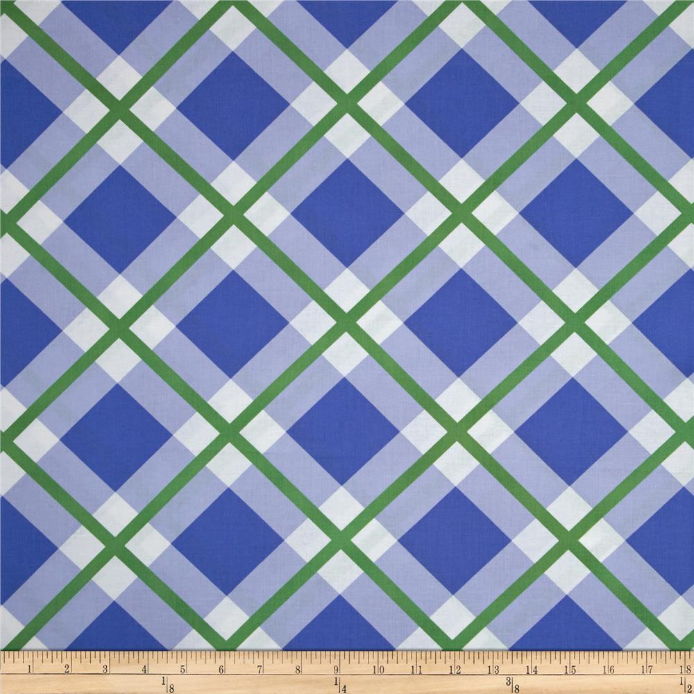 Enchanted Perpetual Plaid Periwinkle