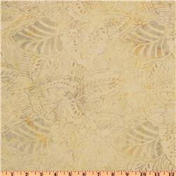 Timeless Treasures 108'' Wide Tonga Batik Quilt Backing Cream