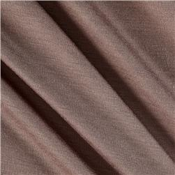 Rayon Spandex Jersey Knit Dark Taupe