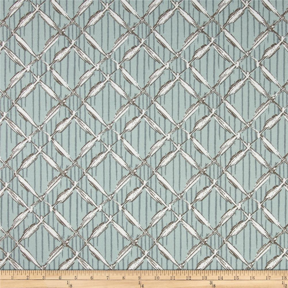 Premier Prints Indoor/Outdoor Bora Bora Blue Stone