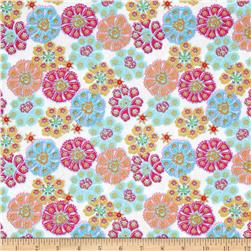 Chattune Tossed Floral White