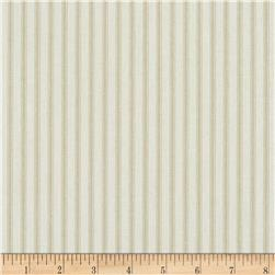 Magnolia Home Berling Ticking Stripe Sand