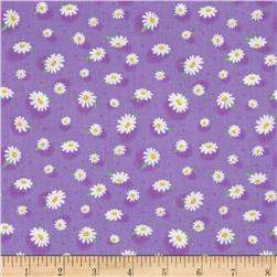 Doo Dads  Daisies Purple