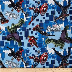 Marvel Comics Avengers Assemble Toss Blue