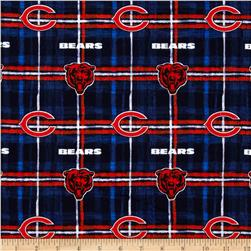 NFL Flannel Chicago Bears Blue/Orange