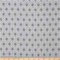 Metro Living Flame Stripe Grey