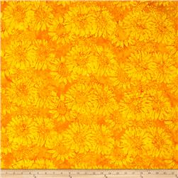 Island Batik Sunflower Yellow/Gold