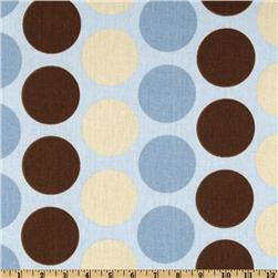 Premier Prints Fancy Dot Mist/Putty