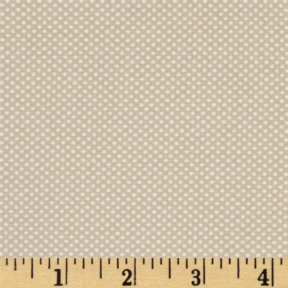 Moda Dottie Tiny Dots Tan