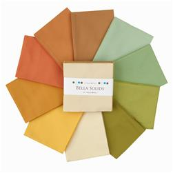 Moda Bella Solids 5'' Charm Pack Warm Pastels