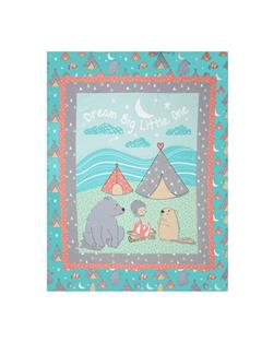 "Nursery Camp Wee One 36"" Panel Multi"