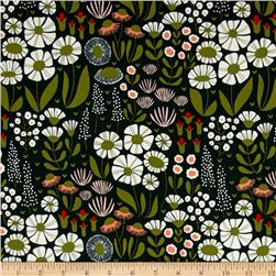 Cloud 9 Organic Floratopia Tiny Danger Corduroy Multi